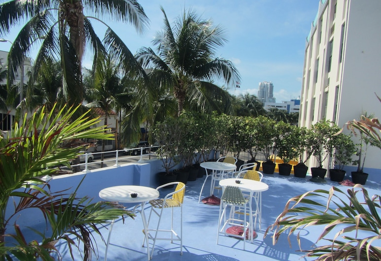 Royal South Beach Hotel, Miami Beach, Terraza o patio