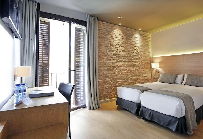 Arc la Rambla, Barcelone, Chambre Double ou avec lits jumeaux, vue ville, Chambre