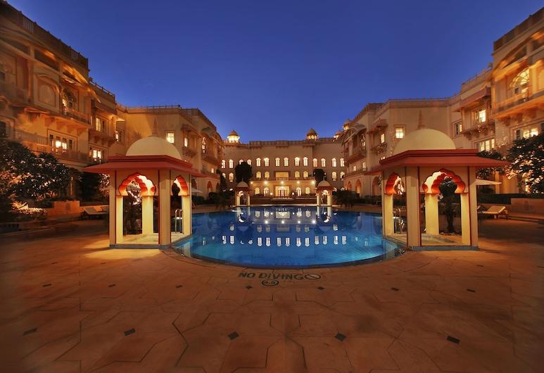 Taj Hari Mahal Jodhpur , Jodhpur, Superior kamer, 1 kingsize bed, uitzicht op zwembad (Charm), Uitzicht vanaf kamer