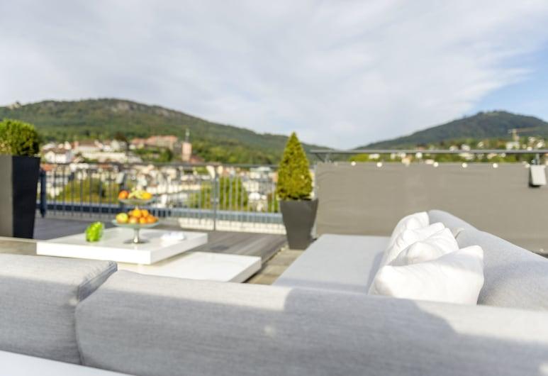 Maison Messmer - ein Mitglied der Hommage Luxury Hotels Collection, Baden-Baden, Penthouse (for maximum 6 Persons), Balkon
