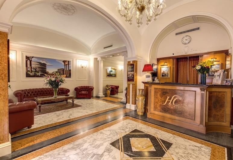Hotel Contilia, Rom, Lobby