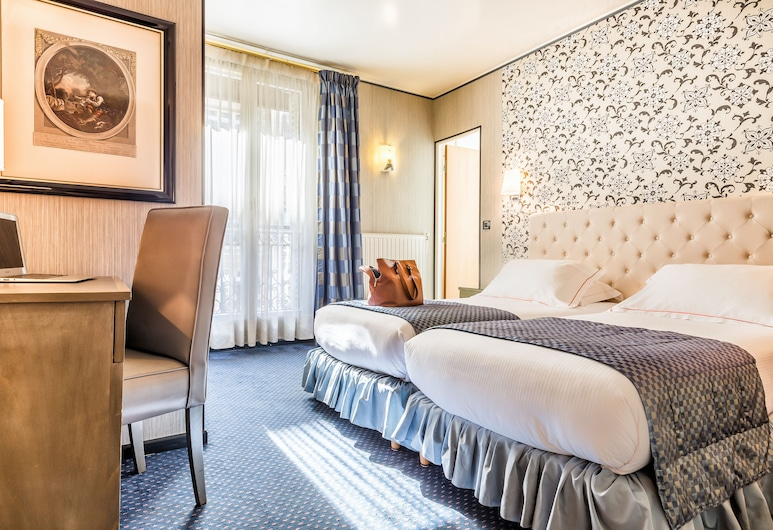 Hotel Régence, Paris, Standard Twin Room, Guest Room