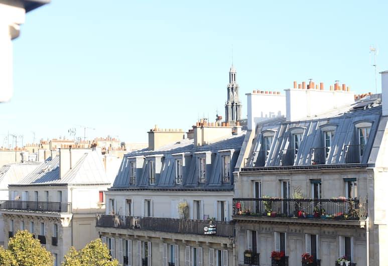 Hotel Cosmotel, Paris, View from Hotel