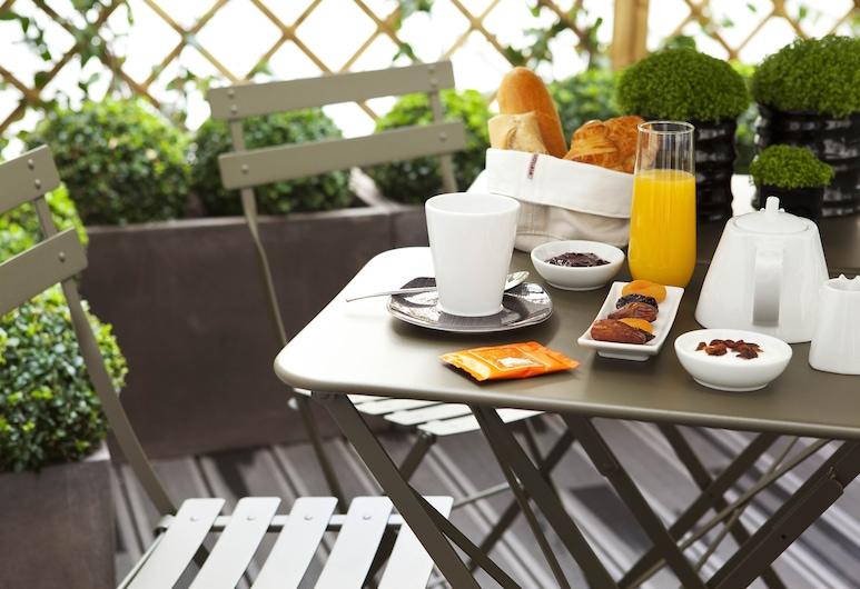 Le Grey Hotel, Paris, Dubbelrum, Terrass