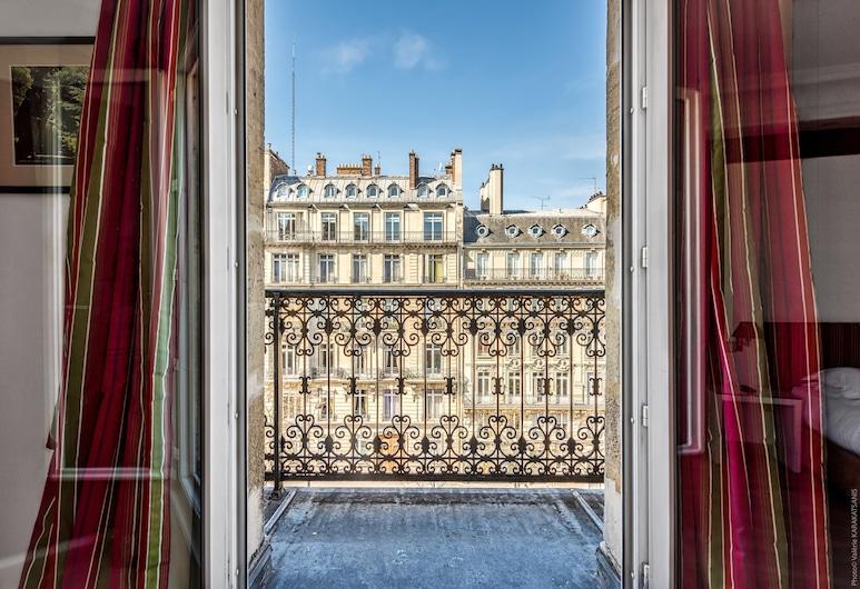 Etoile Park Hotel, Paris, Chambre Double, balcon, avec vue, Balcon