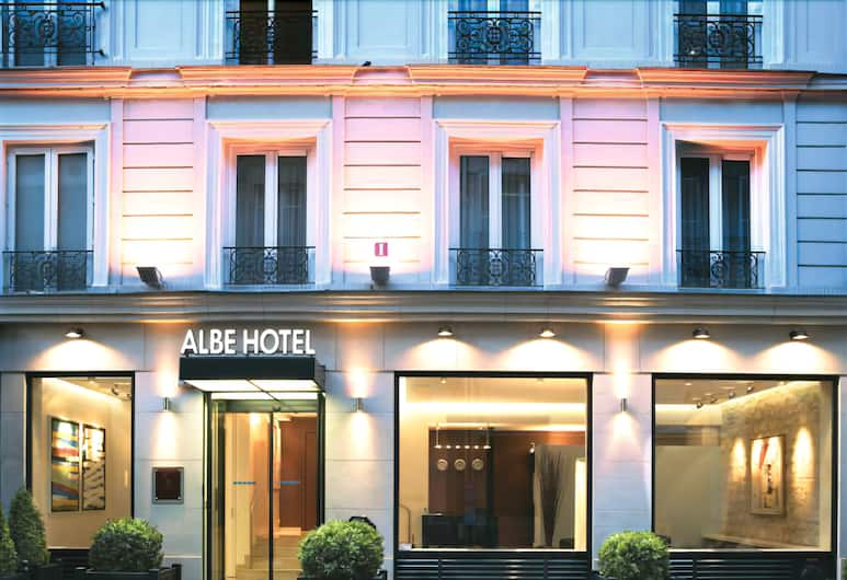 阿爾貝米歇爾大街酒店, 巴黎, 酒店正面