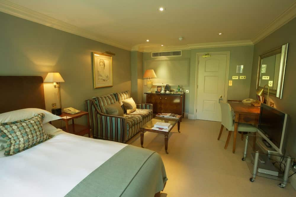 Luxury Tek Büyük Yataklı Oda - Oturma Alanı