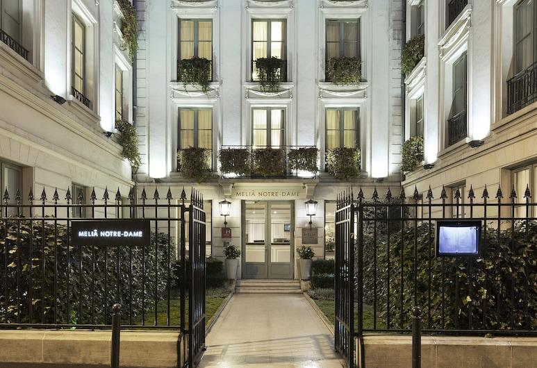 巴黎聖母院美利亞酒店, 巴黎, 酒店入口