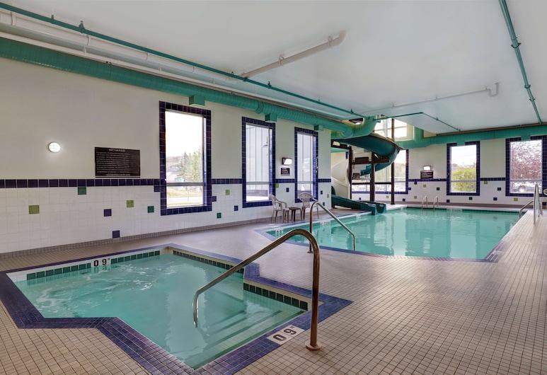 SureStay Plus Hotel by Best Western Drumheller, Drumheller, Kolam Renang Dalam Ruangan
