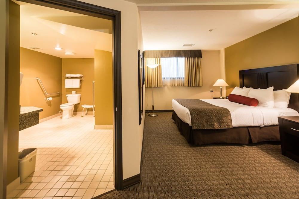標準客房, 1 張加大雙人床, 無障礙, 無景觀 - 客房