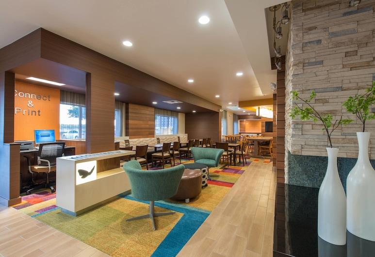 Fairfield Inn & Suites by Marriott Dallas Lewisville, Λιούισβιλ, Λόμπι
