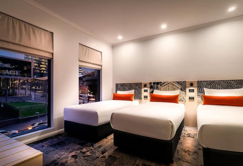 Quality Hotel Batman's Hill on Collins, Melbourne, Rodinná izba, Hosťovská izba
