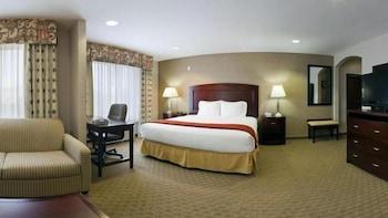 Introduce las fechas para ver los descuentos de hoteles en College Station