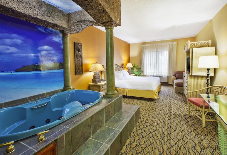 Holiday Inn Express Hotel & Suites Belleville, an IHG Hotel, Belleville, Szoba, 1 king (extra méretű) franciaágy, nemdohányzó, pezsgőfürdő (Hawaiian), Vendégszoba