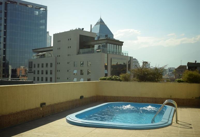 Santa Magdalena Departamentos Amoblados, Santiago, Vonkajší bazén