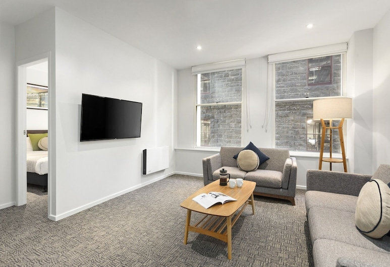 Quest On William, Melbourne, Apartamento, 3 quartos, Quarto