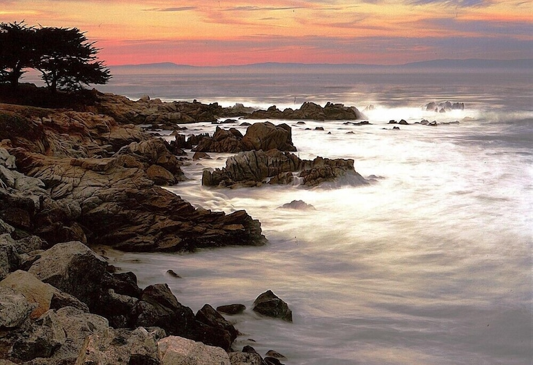 Sea Breeze Inn And Cottages, Pacific Grove, Plaża