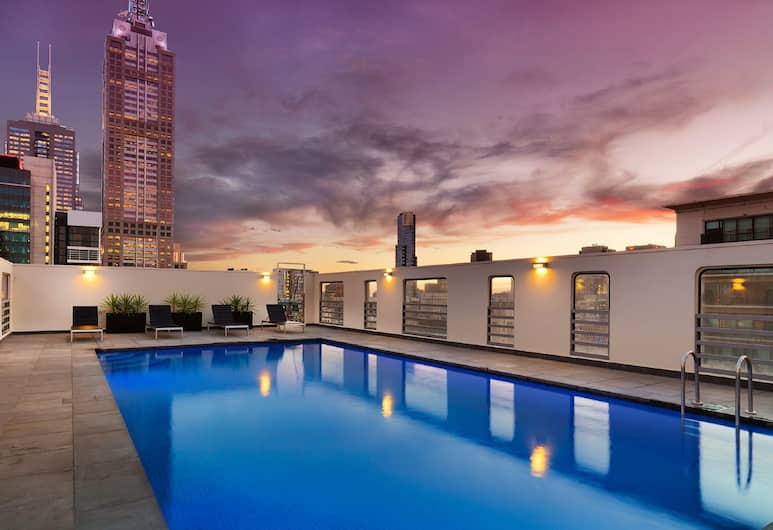 Hotel Grand Chancellor Melbourne, Melbourne, Outdoor Pool