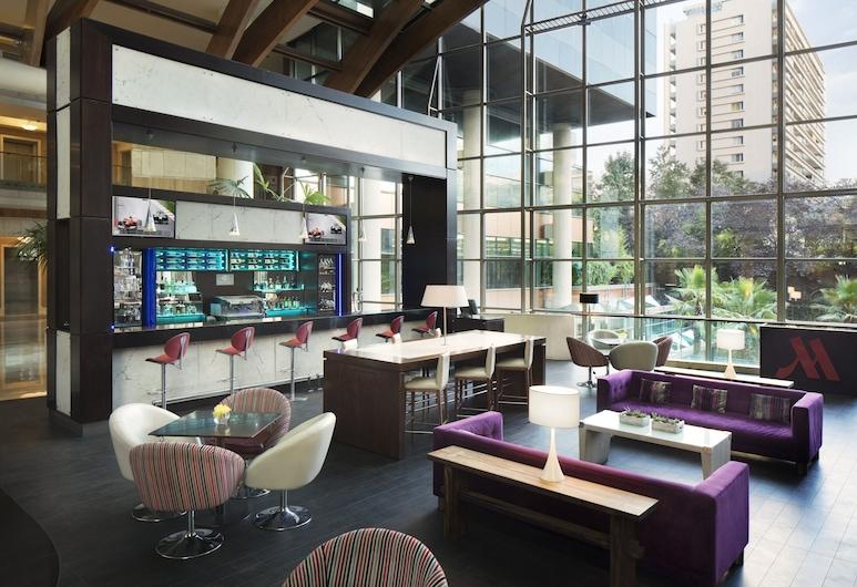 Santiago Marriott Hotel, Santiago, Lounge do Lobby