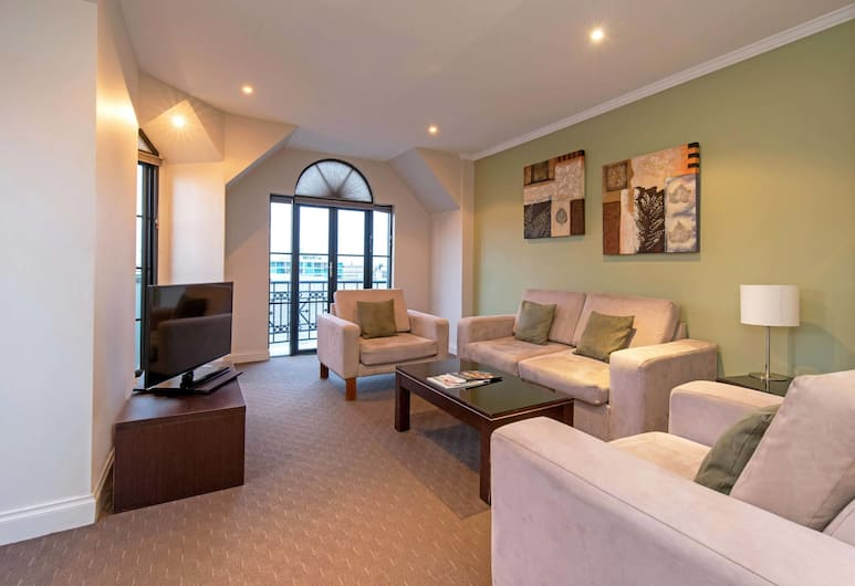 Mantra on Frome, Adelaide, 3 Bedroom, Living Area
