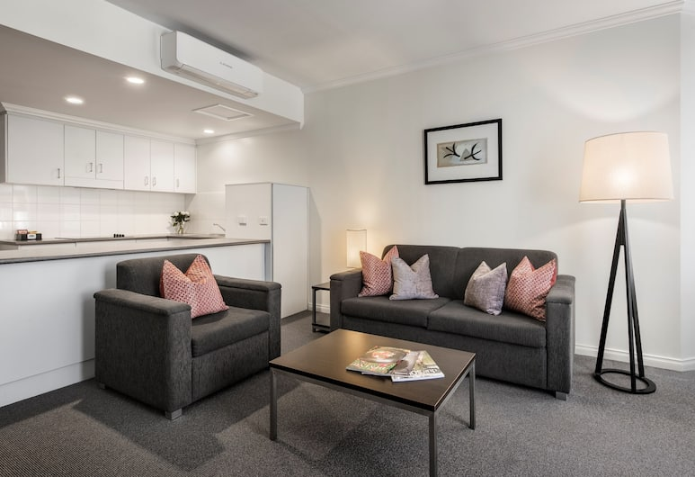 Franklin Apartments, Аделаида, Апартаменты, 1 спальня, Номер