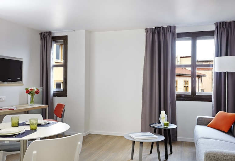 Citadines Presqu'île Lyon, Lyon, Апартаменти «Делюкс», 1 спальня, Вітальня
