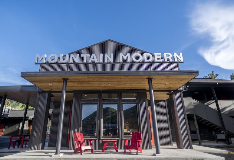 Mountain Modern Motel, Джексон, Фасад отеля