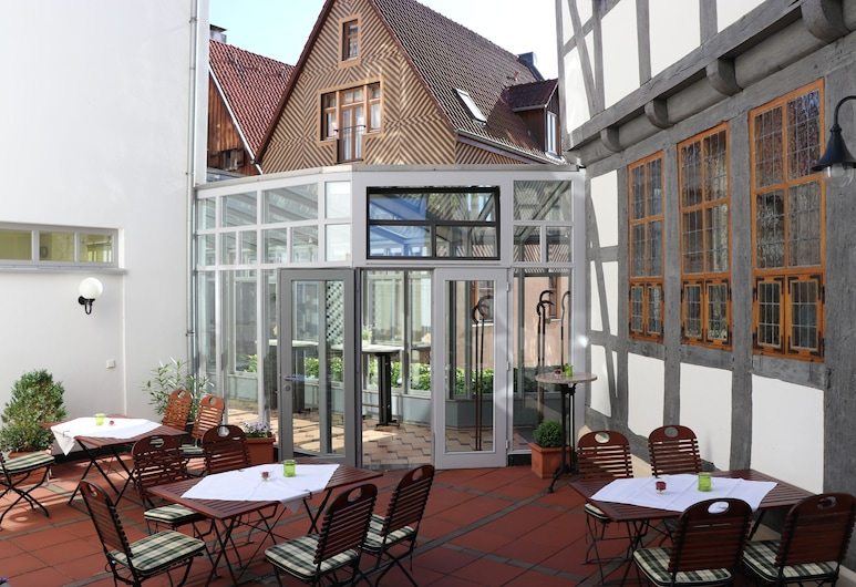 Hotel Arminius, Bad Salzuflen, ארוחה בחוץ