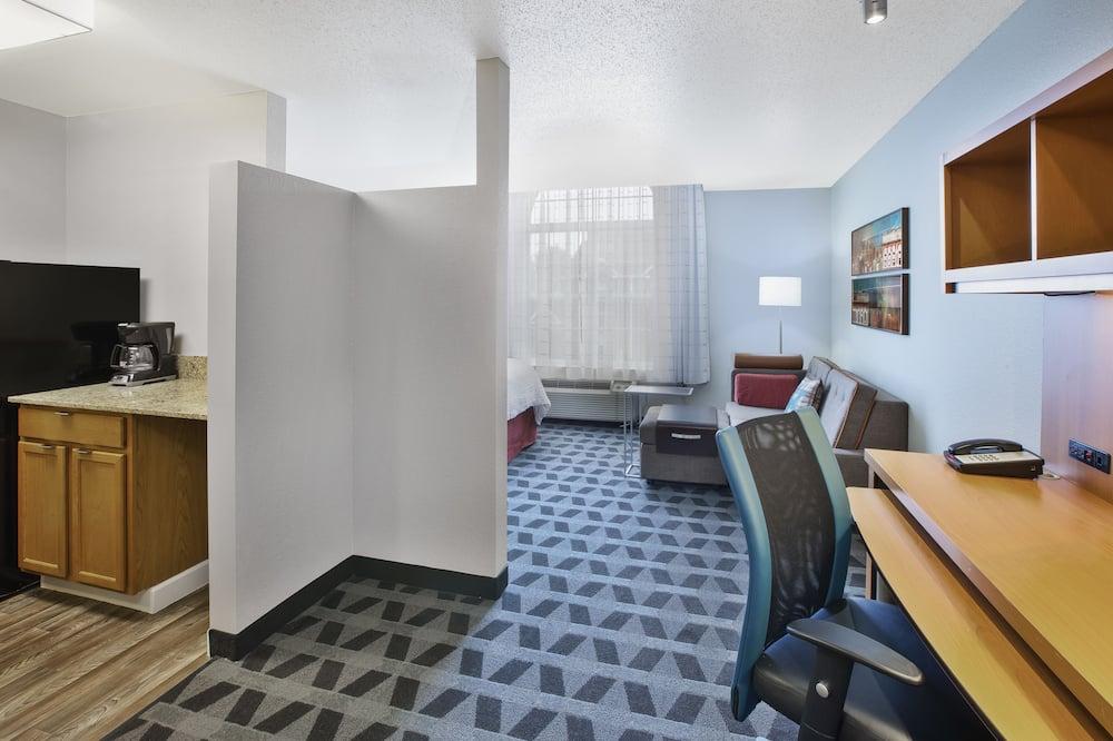 Studija, 1 didelė dvigulė lova, Nerūkantiesiems - Svetainės zona