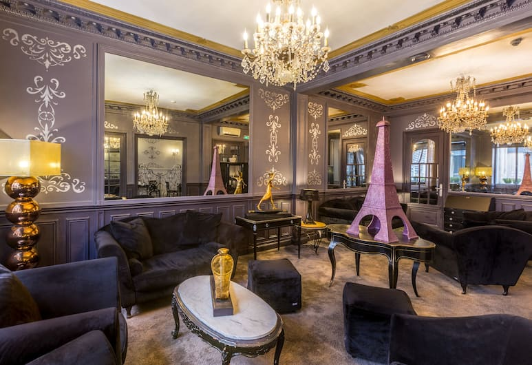 Hotel Prince Albert Louvre, Pariis, Hotelli interjöör