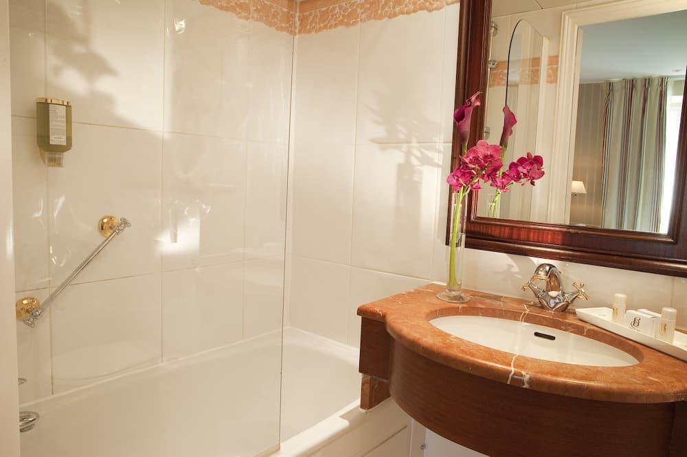 Comfort dubbelrum eller tvåbäddsrum - Badrum