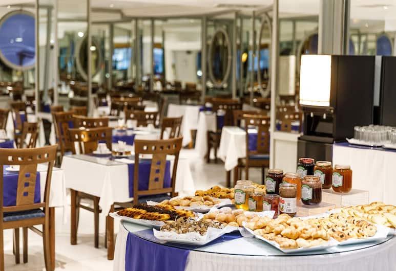 Hotel Nice Riviera, Nice, Frukostområde