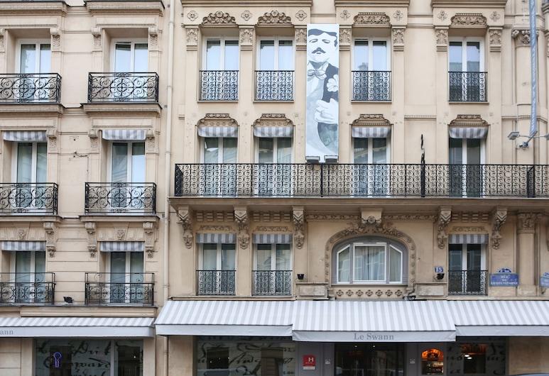 퀄리티 호텔 오페라 생 라자르 파리 8, 파리, 호텔 정면