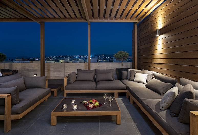Samaria Hotel, Chania, Penthouse (Suite), Terrace/Patio