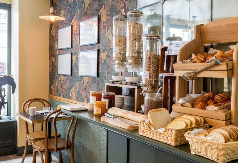 Best Western Hotel Litteraire Arthur Rimbaud, Paris, Frukostområde
