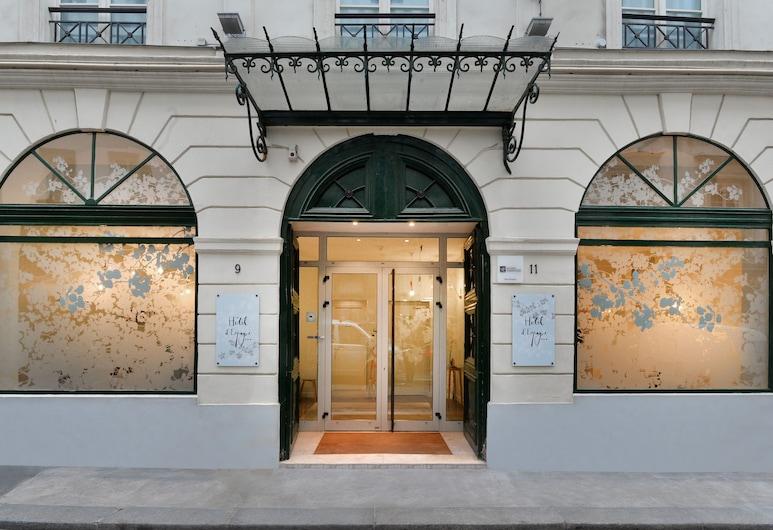 Hôtel d'Espagne, Paris, Hotellentré