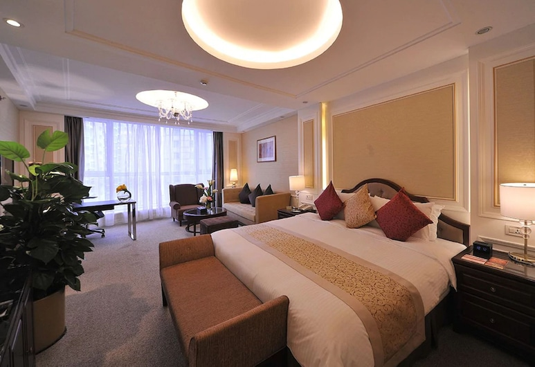 Central Hotel Shanghai, Shanghai, Executive Room, Guest Room
