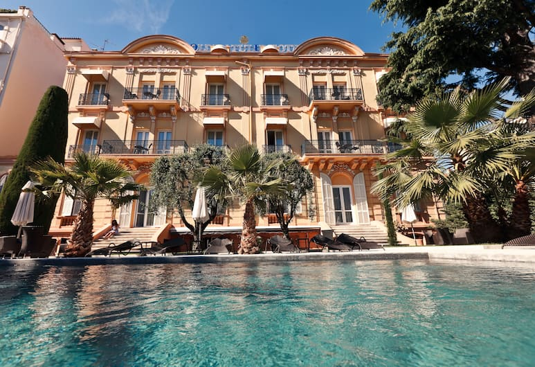 Golden Tulip Cannes hotel de Paris, Cannes, Voorkant hotel