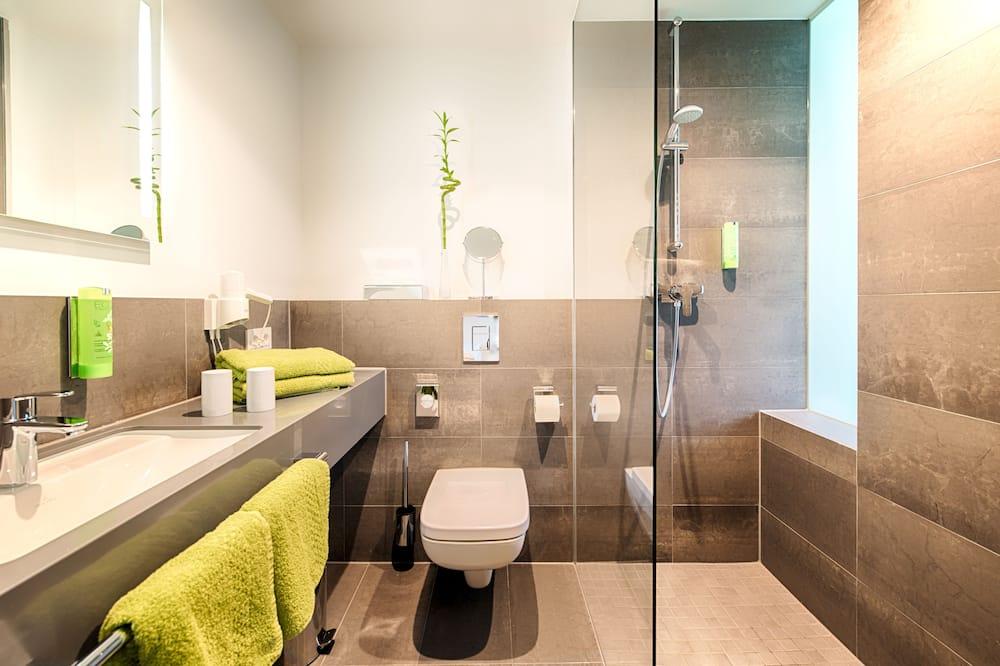 Garden Room Comfort Balcony (Single Room) - Bathroom