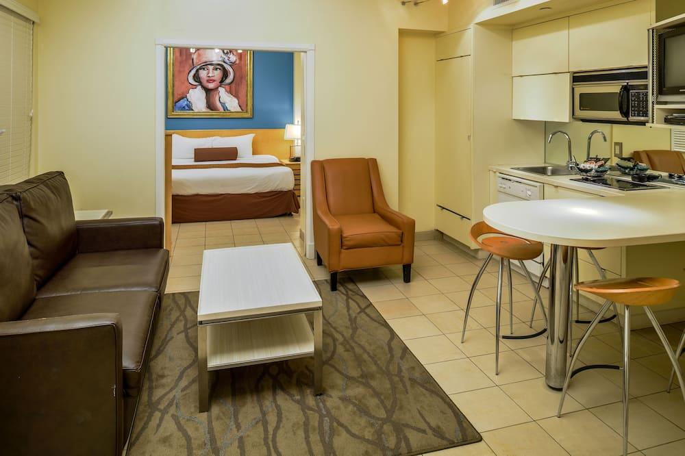 Dvojlôžková izba, 2 spálne - Obývačka