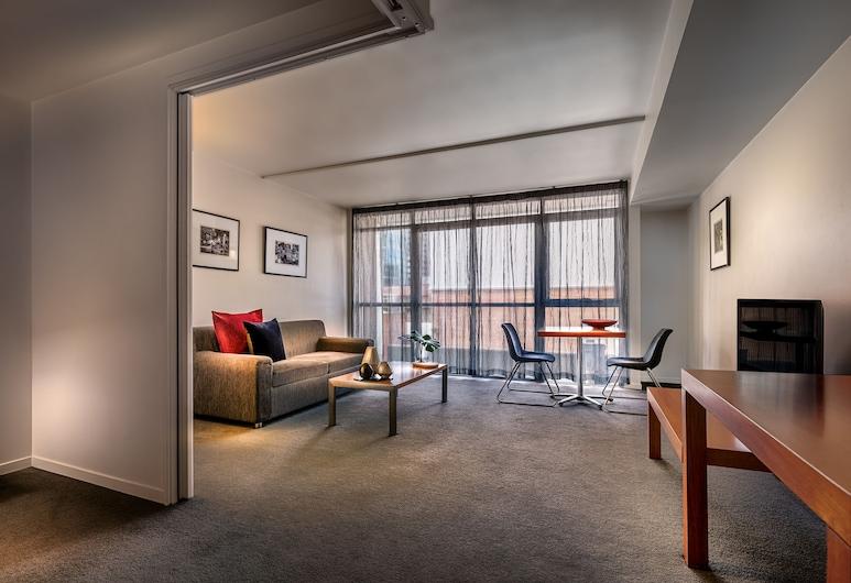 Punthill Little Bourke, Melbourne, Standard One Bedroom Apartment, Living Room