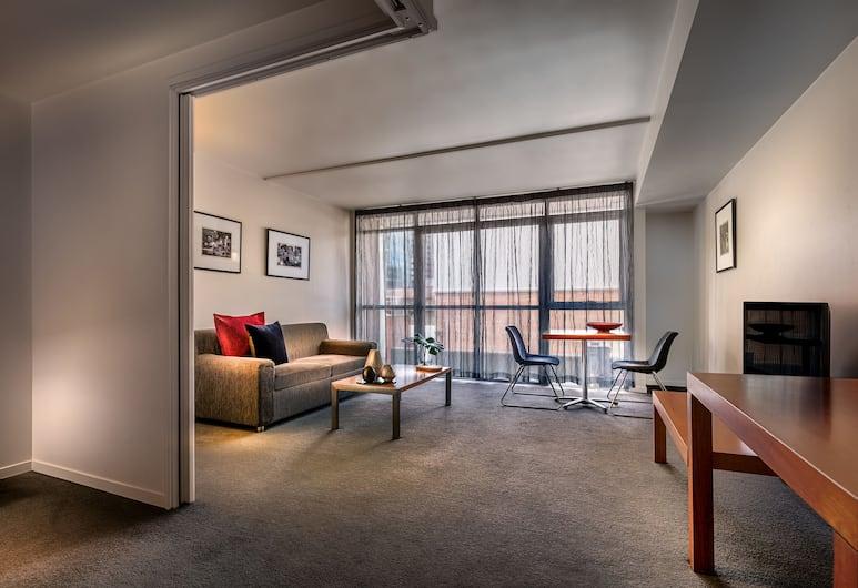 普特希爾小博克公寓飯店, 墨爾本, 公寓, 1 間臥室, 客廳