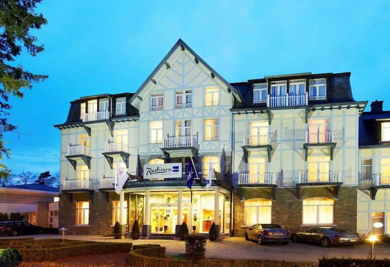 Radisson Blu Balmoral Hotel, Spa, Spa, Fasada hotelu
