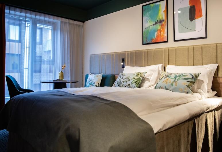 Thon Hotel Prinsen, Trondheim, Pokój standardowy, Łóżko podwójne, dla niepalących, Pokój