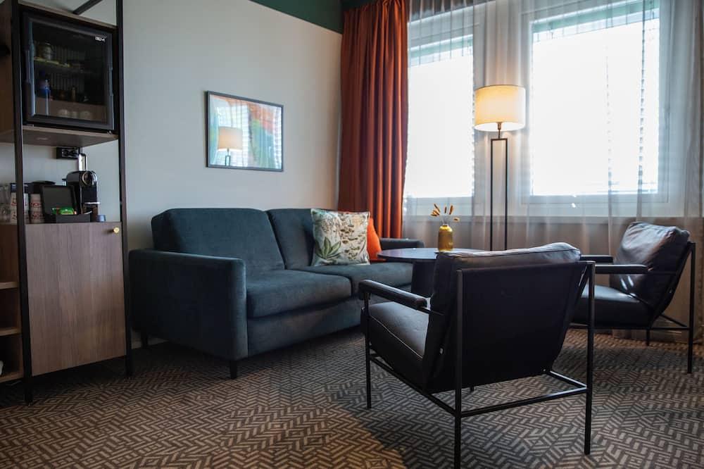 ห้องบิสซิเนส, เตียงเดี่ยว 2 เตียง, ปลอดบุหรี่ - ห้องนั่งเล่น