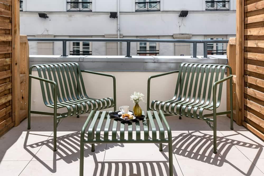 Pagerinto tipo dvivietis kambarys - Terasa / vidinis kiemas