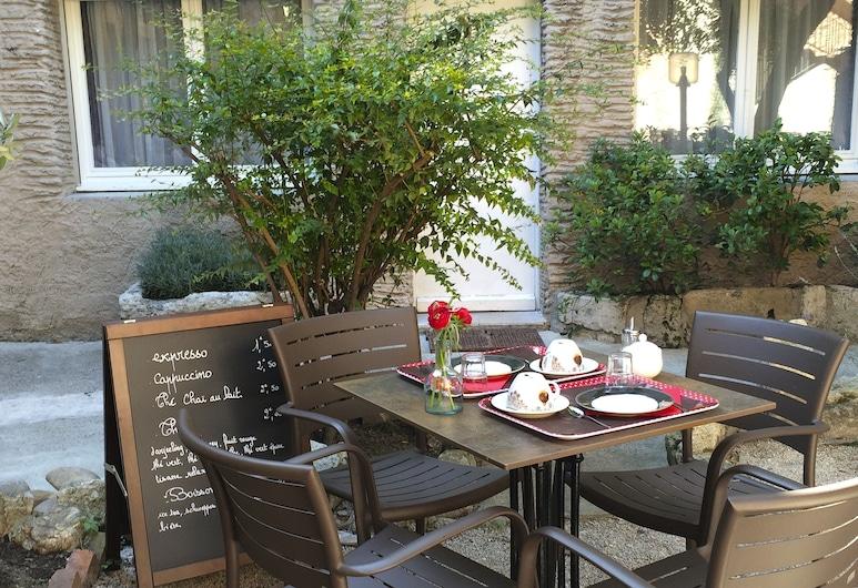 Le Magnan, Avignon, Záhrada