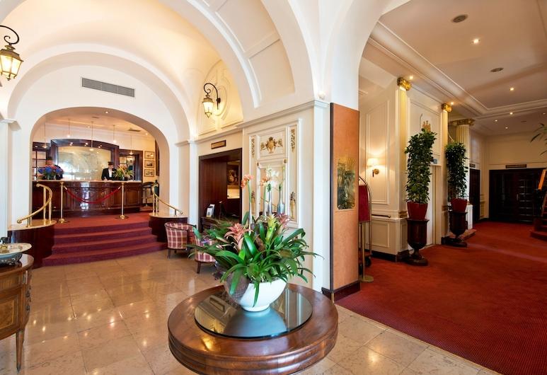 Hotel West End, Nice, Entrén inifrån
