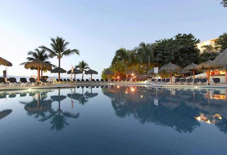 Grand Palladium Vallarta Resort & Spa - All Inclusive, פונטה דה מיטה, בריכה חיצונית