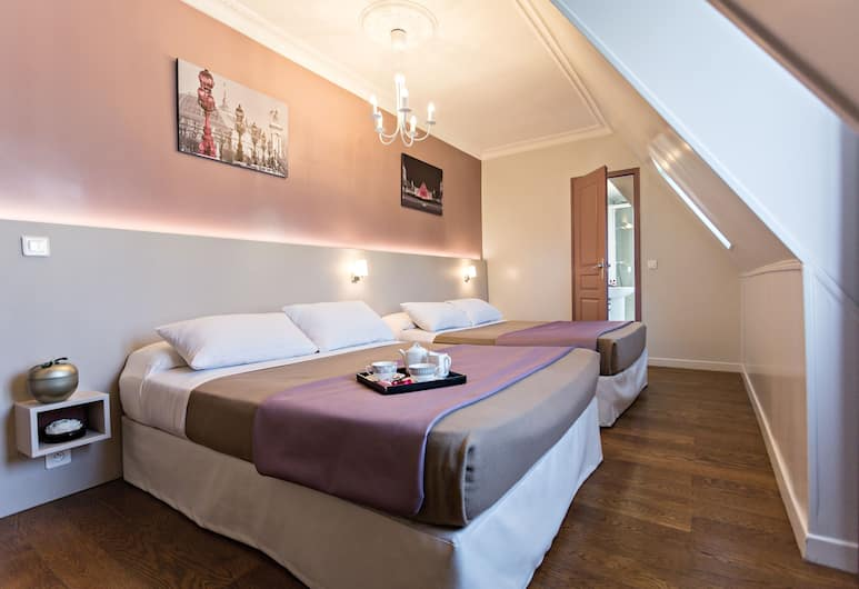 Modern Hotel, Paris, Family Room, Guest Room